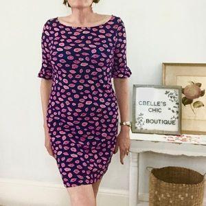 Lilly Pulitzer Dresses - Lilly Pulitzer Kisses Somerset Cotton Dress Sz XS